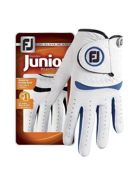 FootJoy Junior handschoen - Wit/Cobalt