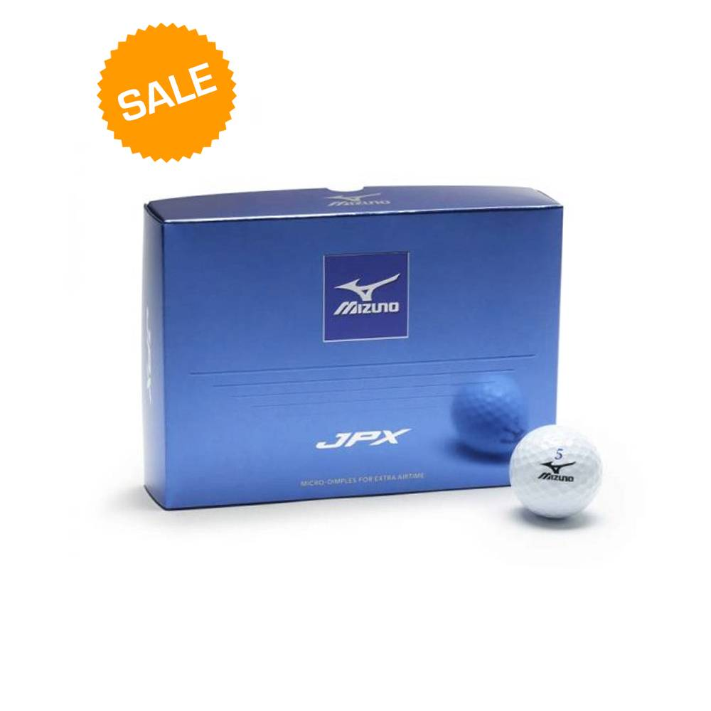 Mizuno JPX 2018 golfballen dozijn - Wit