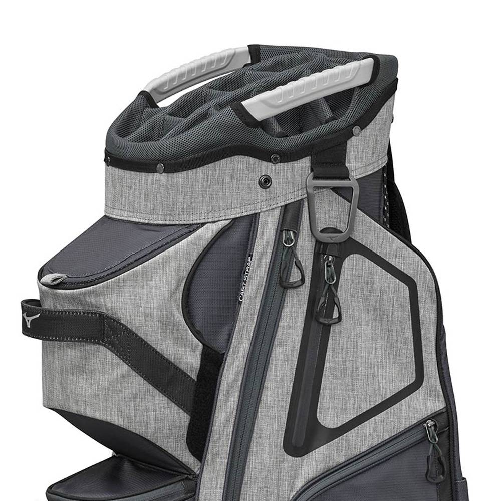 Mizuno BR-D4 - Trolley tas - Grijs/Zwart