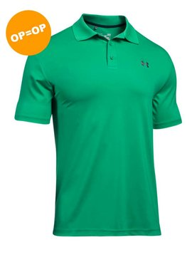 Under Armour Heat Gear Performance Polo 2.0 - Groen
