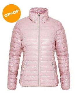 Rohnisch Light Down Jacket - Dusty Pink