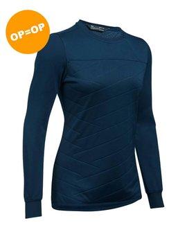 Under Armour Cold Gear Reactor shirt 1/2 Zip - Blauw