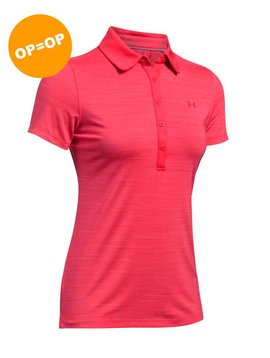 Under Armour Heat Gear Zinger SS Polo - Roze