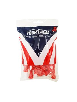 """TourEagle Plastic step tees 2.75"""" - 30 stuks"""