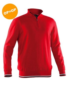 Abacus Dubson wind pullover - Rood