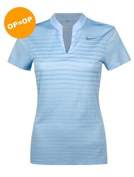 Nike Dames ZNL CL Polo - Licht Blauw