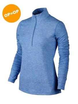 Nike Dry Top Half Zip - Licht Blauw