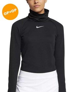 Nike Dames ARORCT WRM Top - Zwart