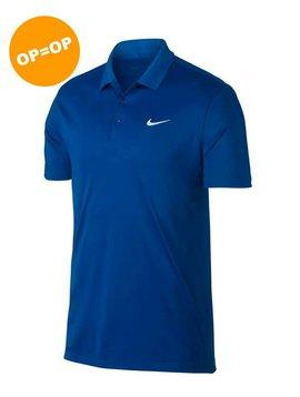 Nike Heren Dry Victory Polo - Blauw