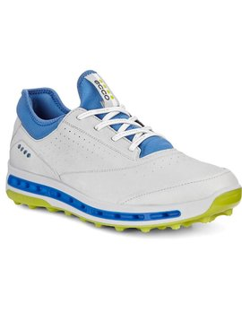 Ecco Heren Golf Cool Pro - Concrete/Kiwi
