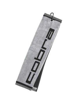 Cobra Tri-Fold Towel - Zwart/Grijs