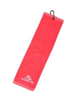 Cobra Tri-Fold Towel - Raspberry