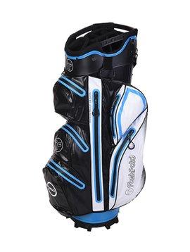 FastFold Waterproof Cart bag - Zwart/Blauw