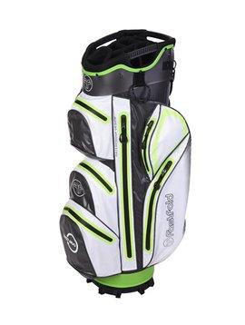 FastFold Waterproof Cart bag - Grijs/Wit/Lime