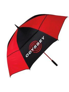 "Odyssey 68"" Double Canopy paraplu - Zwart/Rood"
