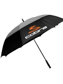 Cobra Double Canopy paraplu - Zwart