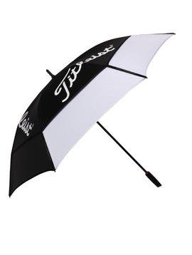 Titleist Tour Double Canopy Umbrella - Zwart/Wit