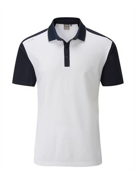 Ping Collection Quinn golf polo - Wit/Navy