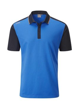 Ping Collection Quinn golf polo - Blauw/Navy