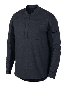 Nike Shield Half Zip -Zwart