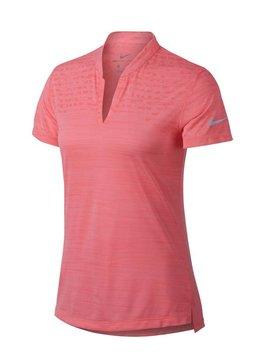 Nike Dames Zonal Cooling Polo - Roze