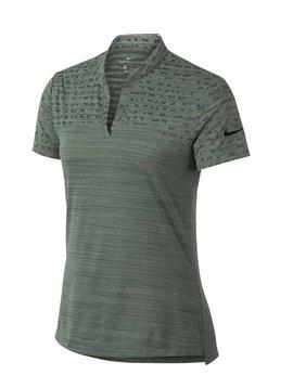 Nike Dames Zonal Cooling Polo - Groen