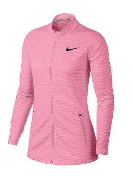 Nike Dames Dry full Zip Top - Roze