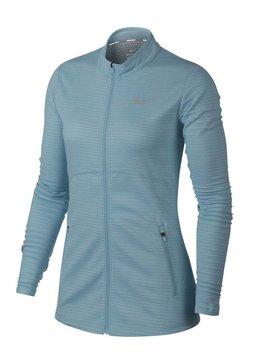 Nike Dames Dry full Zip Top - Ocean Bliss
