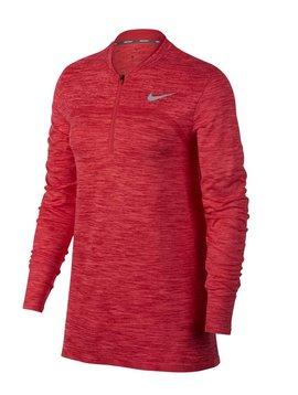 Nike Dames Dry Half Zip Top - Roze