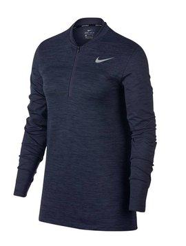 Nike Dames Dry Half Zip Top - Blauw