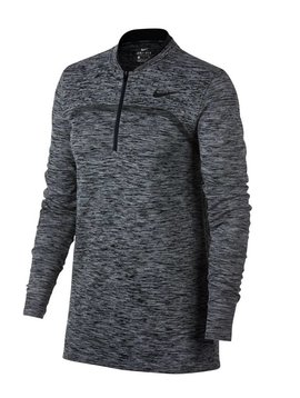 Nike Dames Dry Half Zip Top - Zwart