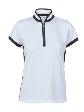 Daily Sports Marge SS Polo - Wit/Zwart