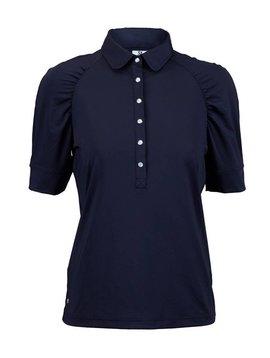 Daily Sports Ariana 1/2 Sleeve Polo - Navy