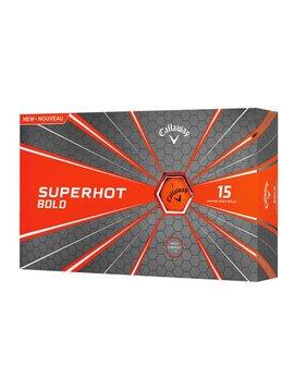 Callaway Superhot Bold golfballen 15 -ball pack - Matt Oranje