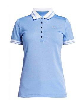 Rohnisch Pim Polo shirt - Licht Blauw