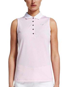 Rohnisch Pim Sleeveless Polo Shirt - Roze