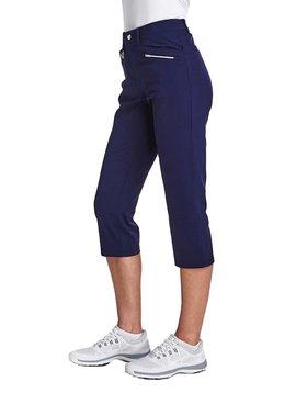 Rohnisch Comfort Stretch Capri - Blauw