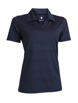 BackTee Embossed Quick Dry UV Polo - Navy