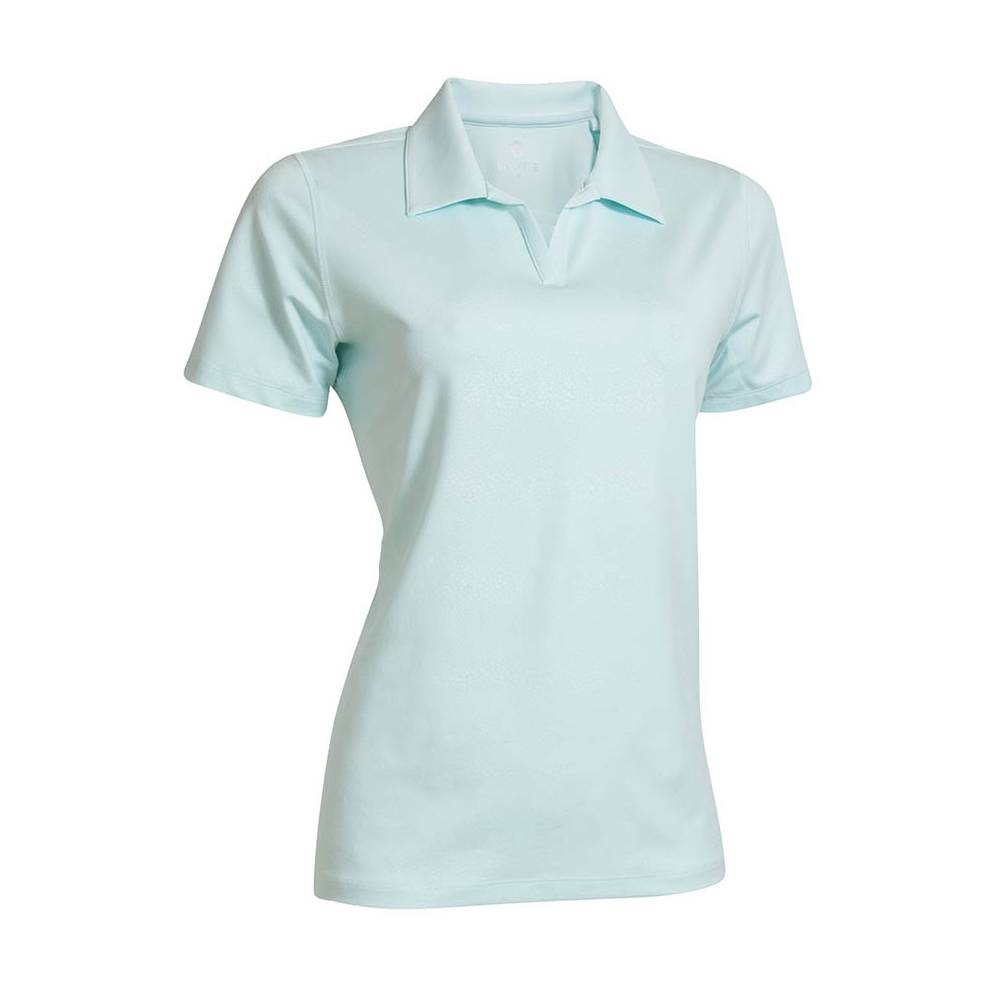 BackTee Embossed Quick Dry UV Polo - Mint