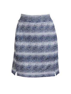 BackTee Printed QuickDry UV Skort - Navy