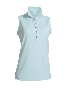 BackTee Quick Dry Performance Sleeveless Polo - Mint