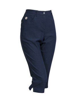 BackTee Super Stretch Capri - Navy