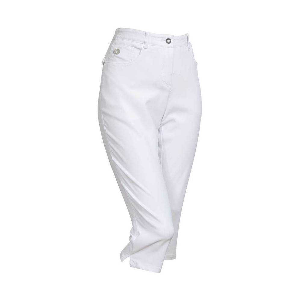 BackTee Super Stretch Capri - Wit