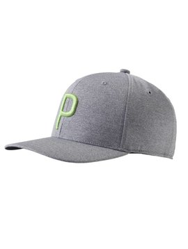 Puma P Snapback Cap - Grijs Heather