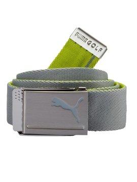 Puma Reversible Web Belt - Lime/Grijs