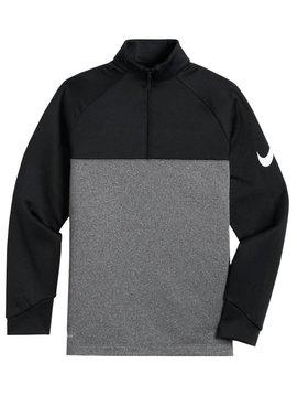 Nike Boys Therma Golf Top - Zwart/Grijs