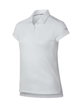 Nike Girls Dri Victory Polo - Wit