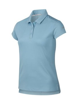 Nike Girls Dri Victory Polo - Ocean Bliss