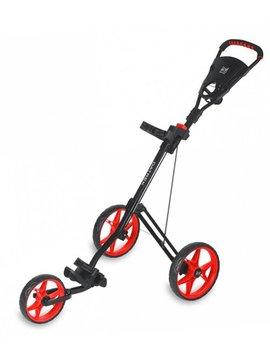Datrek PC-500 3-wiel trolley - Zwart/Rood