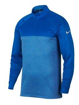 Nike Therma Half Zip Top - Blauw